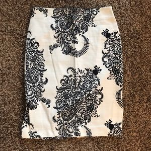 PATTERNED Women's Pencil Skirt